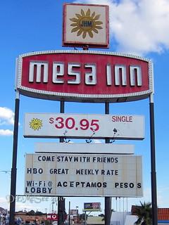 Motel  Mesa El Paso Tx