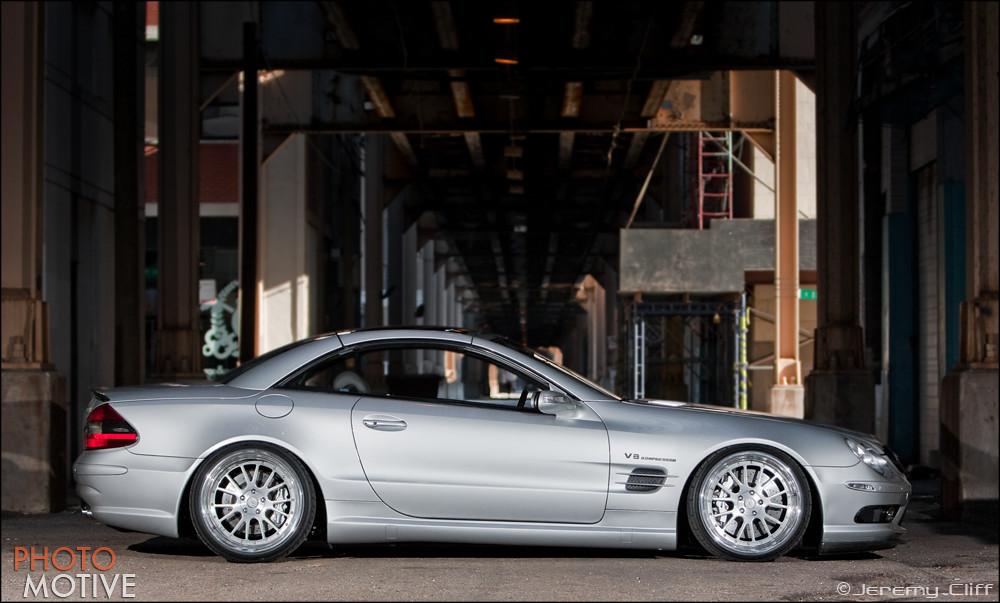2005 Mercedes Benz Sl55 Amg Slammed Quot Hella Flush Quot 2005