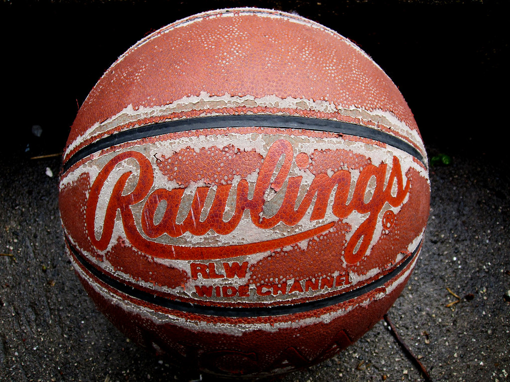 my old basketball i used to love to play basketball whenev flickr. Black Bedroom Furniture Sets. Home Design Ideas