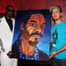 Snoop Dogg with his TTW Painting