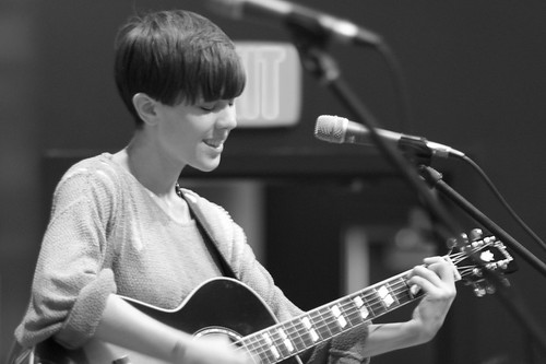 Sara Quin of Tegan and Sara at Twist and Shout | by fairangels