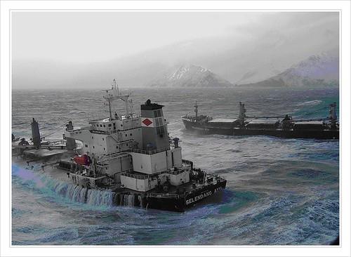 Bulk carrier mv selendang ayu the 738 foot bulk carrier for Brent carrier