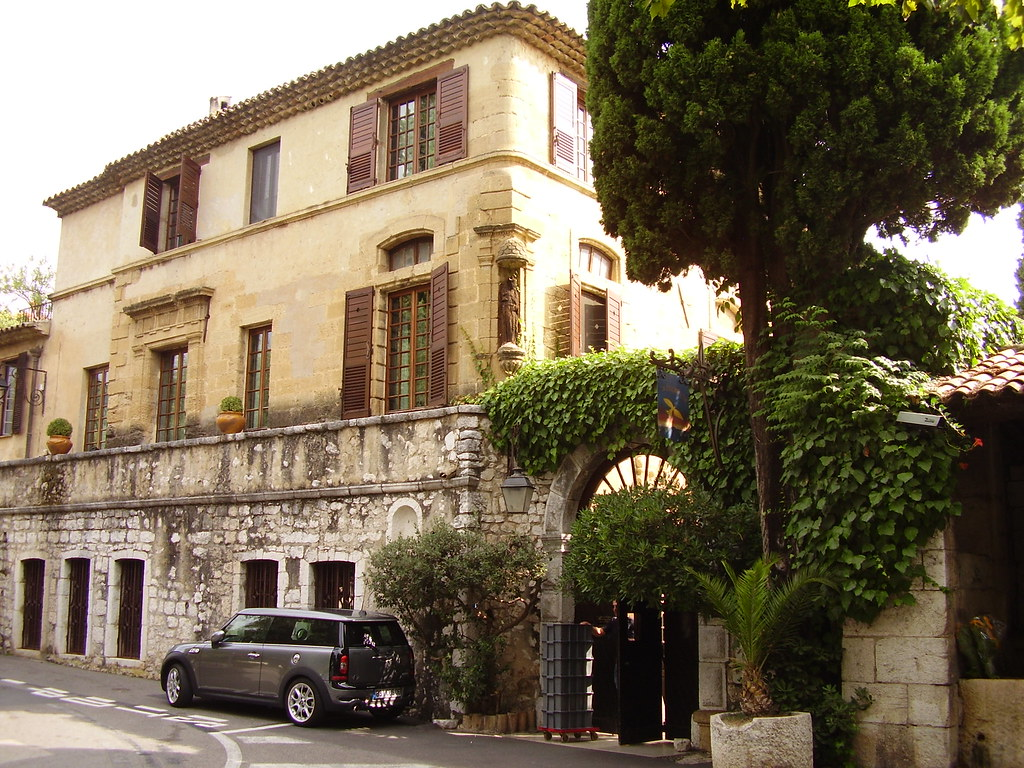 St Paul De Vence Restaurant Colombe D
