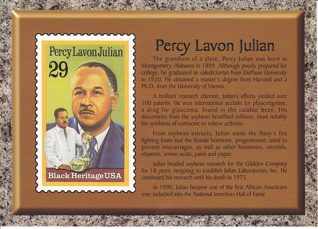the life and contributions of dr percy lavon julian Today's google doodle displays a collage celebrating the life of chemist dr percy lavon julian h.