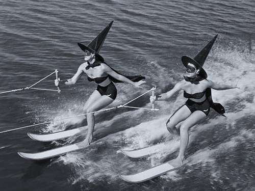 Halloween Greetings from Florida, 1950's | by judibird