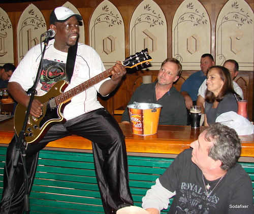 Lucky Peterson at Theodores Blues Club | by sodafixer