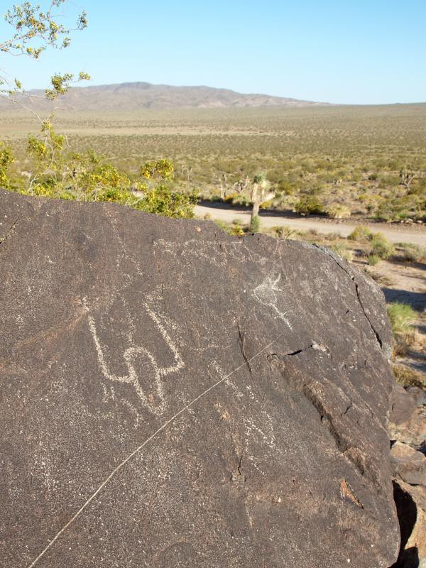 Joshua Tree National Park Geology Tour Road Petroglyph Flickr