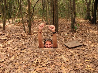 Cu Chi Tunnels - Viet Cong Underground System - Greg Going Under | by FollowOurFootsteps