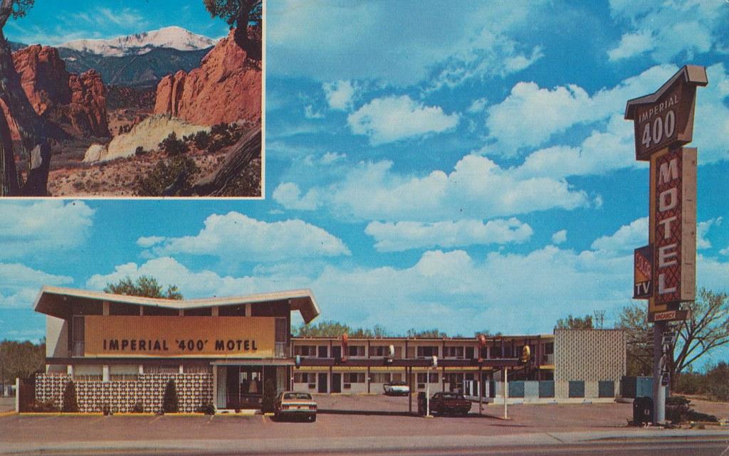 The Cardboard America Motel Archive Imperial 400 Motel