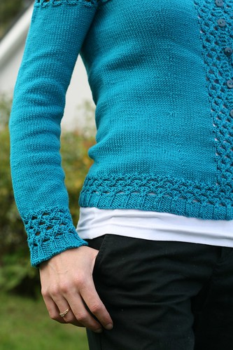 Blue Talamh detail | by Stolen Stitches