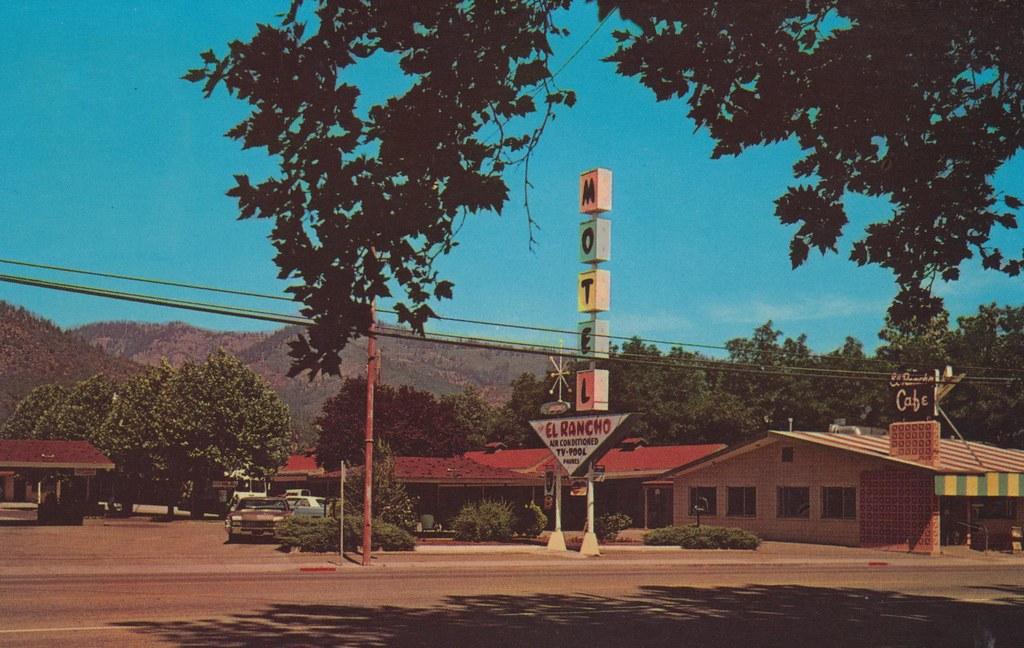 El Rancho Motel & Restaurant - Yreka, California