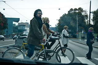 Helsinki Bicycle Life_Crossing Couple | by Mikael Colville-Andersen