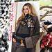 ralph lauren fur leopard scarf DIY inspiration