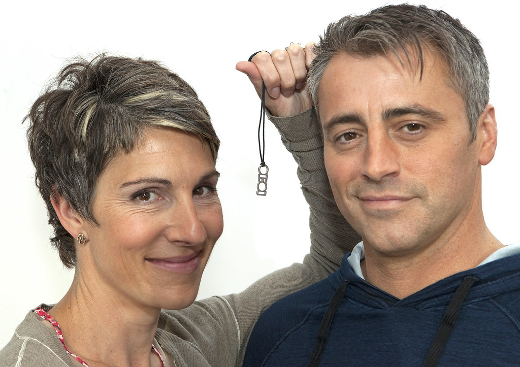 Tamsin Greig And Matt Le Blanc Support 10 10 10 10 Flickr