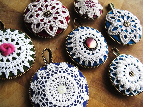 Christmas ornaments | by woolly  fabulous