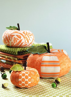 Patchwork Pumpkins | by Retro_Mama