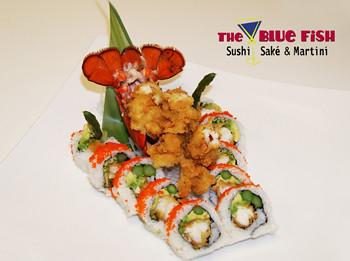 Blue Fish Sushi | Mega Lobster Roll Whole The Blue Fish Sushi Flickr