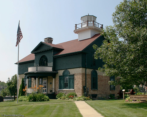 Old Michigan City Lighthouse Museum Indiana