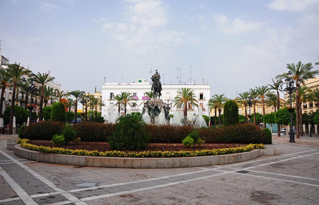 Plaza del arenal jerez de la frontera la plaza del for Azulejos jerez de la frontera