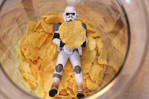 Zadoc the Imperial Jumptrooper retrieves the particular piece of his precious vitamin-loaded crispy gold (Part 3) | by Cobra_11