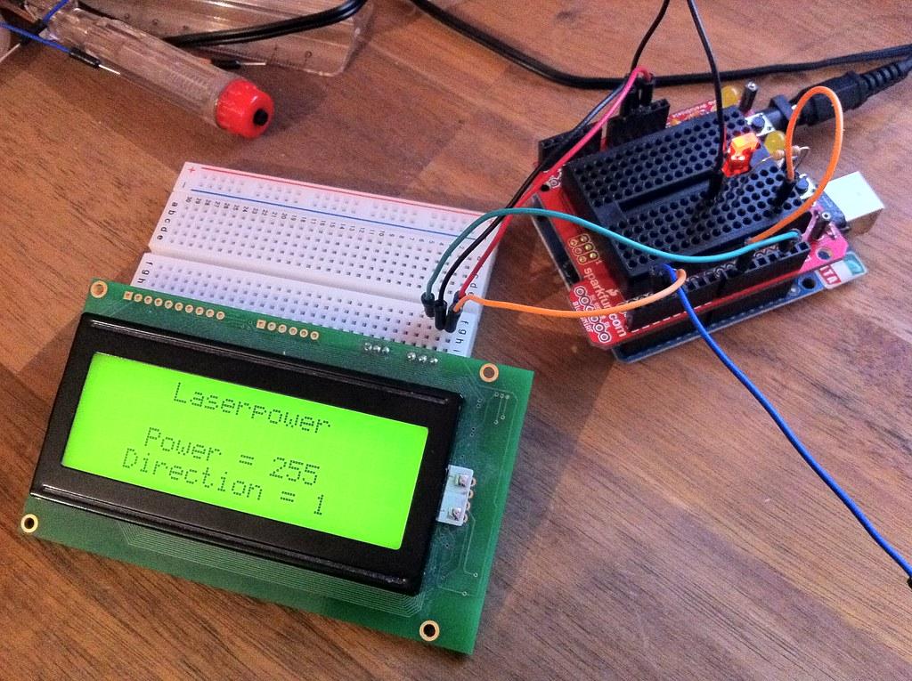 Arduino laser ttl adapter eok gnah flickr
