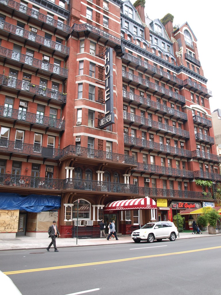 the chelsea hotel new york the hotel chelsea or. Black Bedroom Furniture Sets. Home Design Ideas