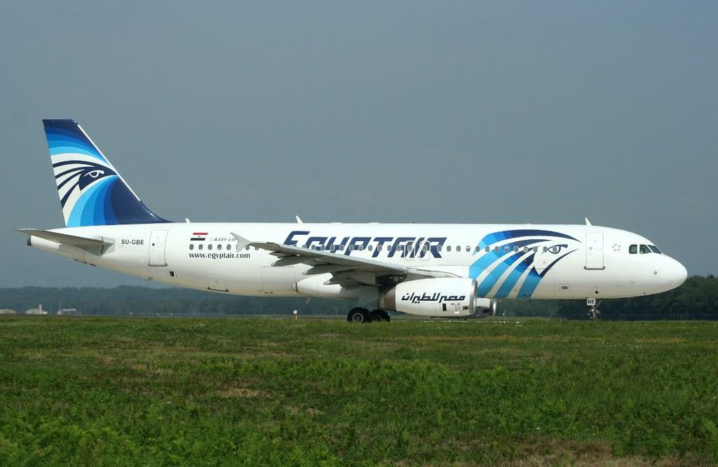 EGYPTAIR 320-200 SU-GBE(cn198)