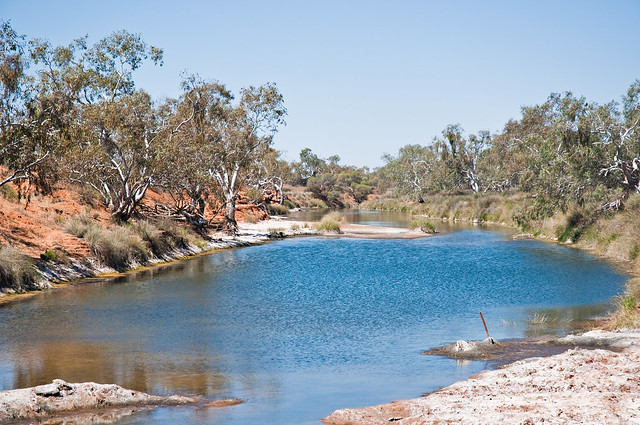 Murchison Australia  City pictures : Driveabout 13, Murchison River at Ballinyoo Bridge, Western Australia ...