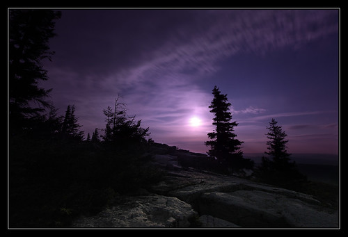 Moonrise over Dolly Sods | by Joey Ricard