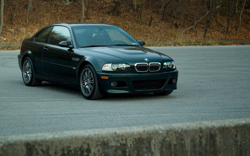 My New Car 2002 Bmw M3 Oxford Green Metallic With Black Flickr