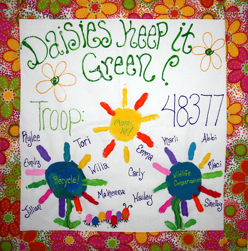 girl scouts of western ohio troop 48377 in bethal ohio