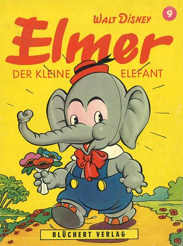 walt disney elmer walt disney elmer der kleine elefant flickr. Black Bedroom Furniture Sets. Home Design Ideas