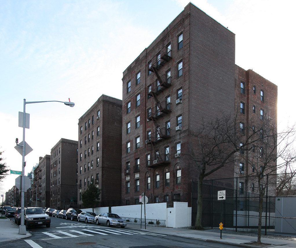 Edison Apartments: Thomas Edison Apartments, 76-66 Austin St, Forest Hills