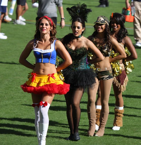 San Diego Chargers Cheerleader Costume: More Charger Girls In Halloween Costumes
