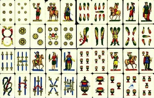 Carte napoletane 01 alessandro di lella flickr for Due di bastoni carte napoletane