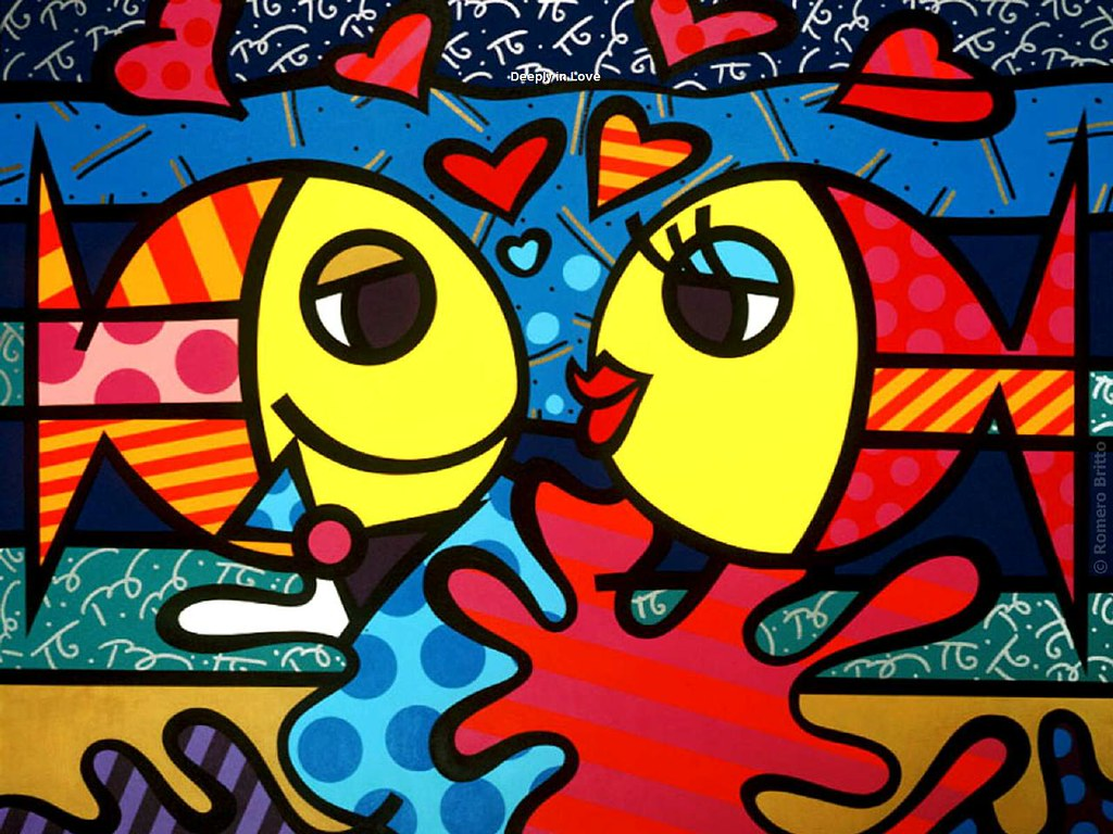 Romero Britto - Deeply in Love   TeresaH12~~~bizzyazabee ...