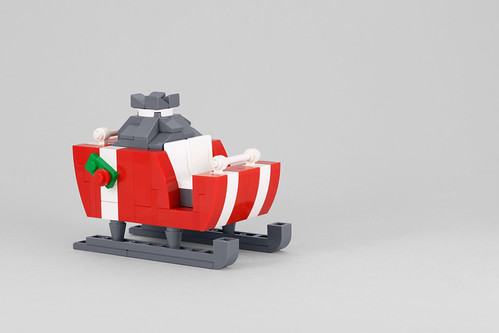 Build It Yourself: Santa's Sleigh | by powerpig
