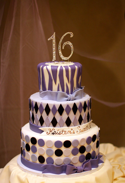 Sweet Sixteen Birthday Cake Designs