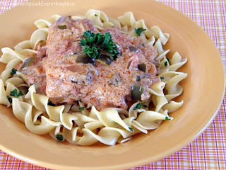 Chicken Paprikash with Egg Noodles | by CinnamonKitchn