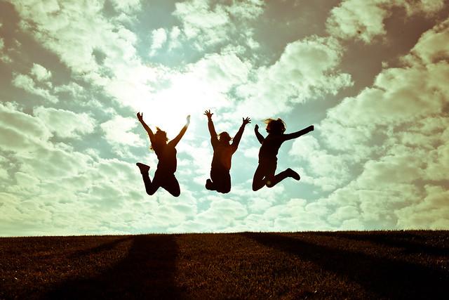 287:365 – Joyful Girls