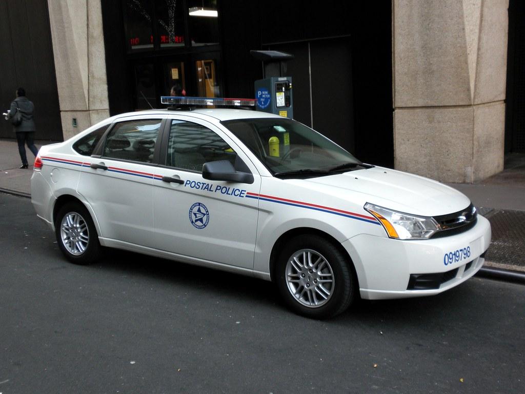 Usps Postal Police Car Franklin Delano Roosevelt Station