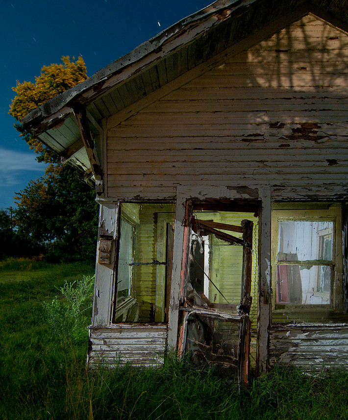 Abandoned Home, Picher, Oklahoma