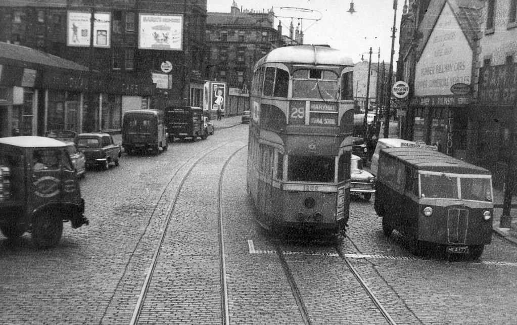 National Car Sales >> Glasgow Tram | Tram 1282 on service 29 showing Maryhill on ...