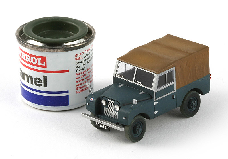 Airfix 1 72 Land Rover From Bloodhound Set Mike G Flickr
