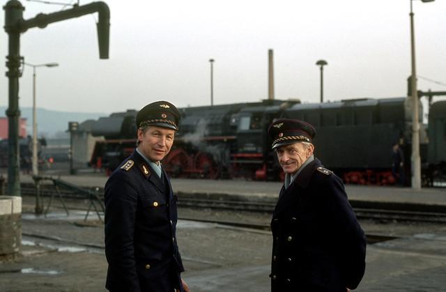 034. Saalfeld Bahnhof. Deutsche Reichsbahn DDR.