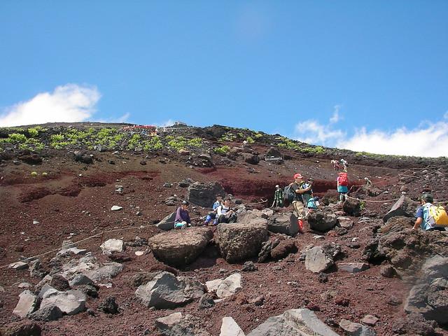富士山登山(富士宮ルート) Climbing Mt.Fuji