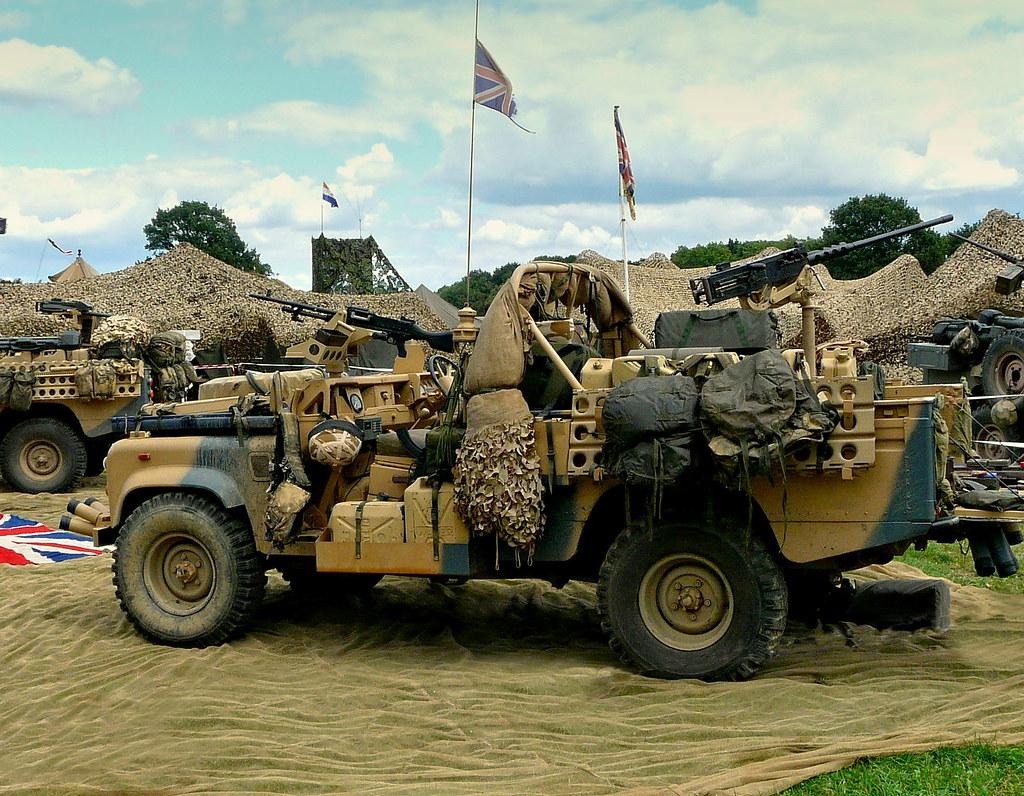 Land Rover Gulf War 55t5 Dave Flickr