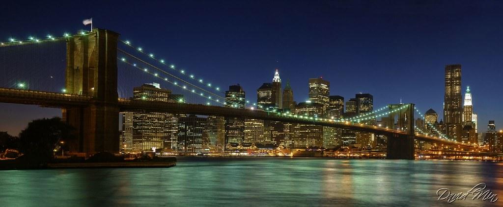 NYC - Brooklyn Bridge Panorama | Facebook Fan Page ...