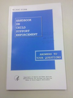 Handbook on Child Support Enforcement | by jen-the-librarian