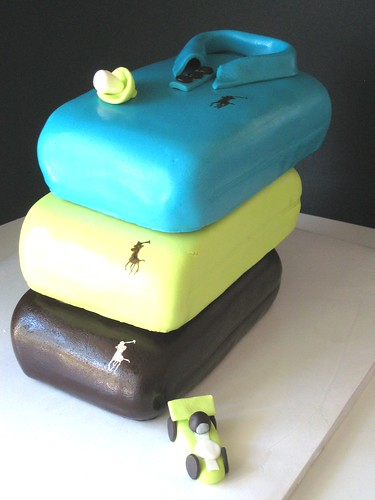 Ralph Lauren Polo Baby Shower Cakes